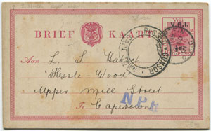 Cover with red passed by censor stamp